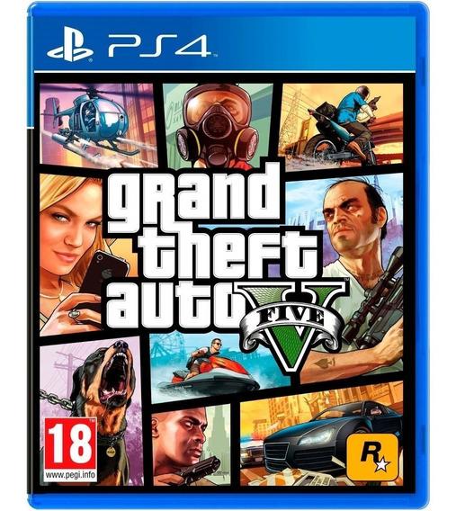 Grand Theft Auto V Gta 5 Ps4 Midia Fisica Cd Nacional Oferta