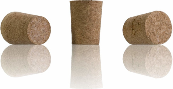Corchos Conico Aglomerados Botella Tapon 3/4 Vino (x1000un)
