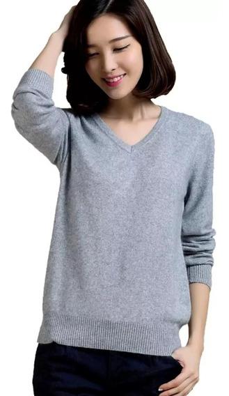 3 Cardigan Fechado Blusa De Frio Suéter De Lã Tricô Inverno