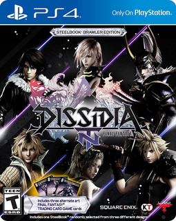 Dissidia Final Fantasy Nt Steelbook Brawler Edition - Playst