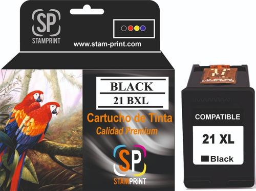 Cartucho Tinta Hp 21 Xl Negro