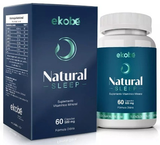 Natural Sleep Dream Ekobé 60 C Suplemento Sono P/ Dormir Bem