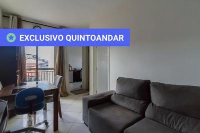 Apartamento No 4º Andar Com 1 Dormitório E 1 Garagem - Id: 892918135 - 218135