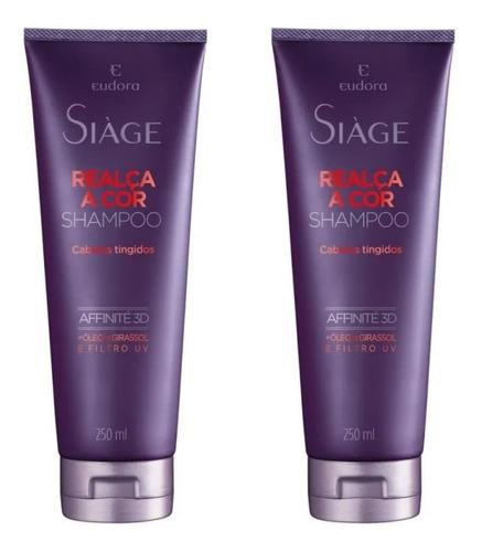 Shampoo Siàge Realça A Cor 250ml (2 Uni) - Eudora