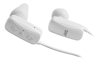 Auricular Inalambrico Jvc Bluetooth Ha-f250bt Sport Blanco