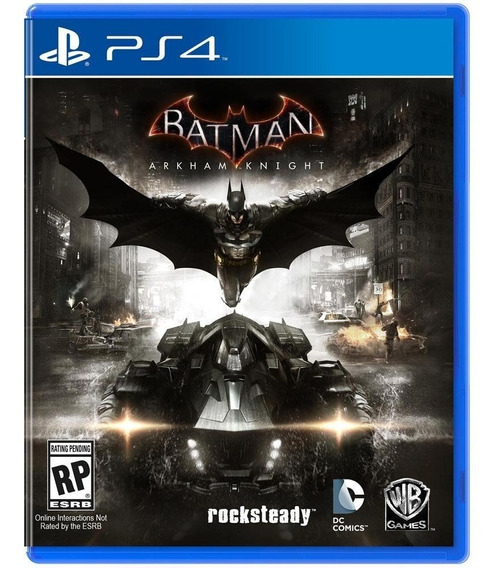 Jogo Batman Arkham Knight Ps4 Midia Fisica Original Dublado