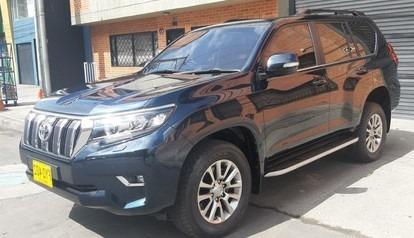 Toyota Prado Vxl Europea Blindada