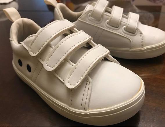 Zapatillas Old Navy Cuero 23,5 Importadas Casi Sin Uso