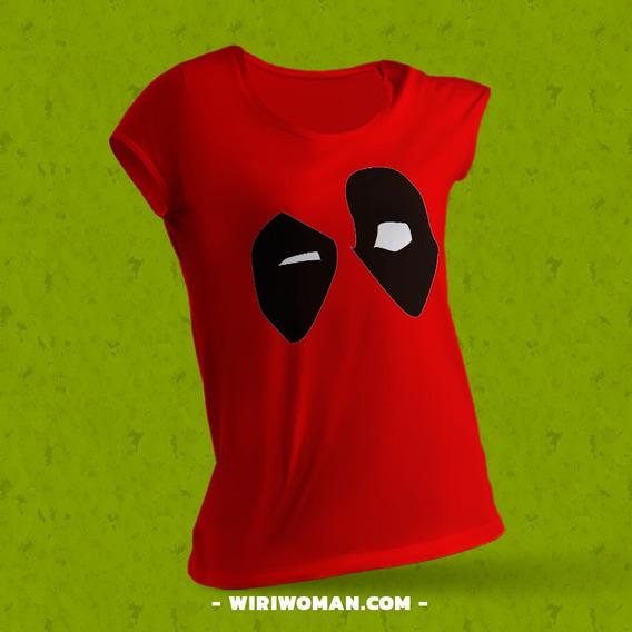 Playera Personalizada Para Dama Deadpool