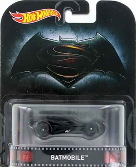 Auto Colección Batmobile Batman Vs Superman Hot Wheels