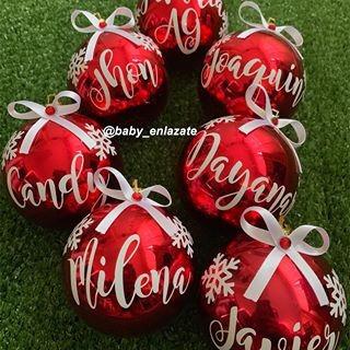 Calcomanias Personalizada Para Bambalinas, Arbol De Navidad