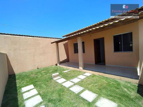 Imagem 1 de 19 de Casa Com 2 Dormitórios À Venda, 60 M² Por R$ 100.000,00 - Unamar - Cabo Frio/rj - Ca0068