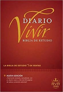 Biblia De Estudio Diario Vivir Rvr 1960 - Tapa Dura