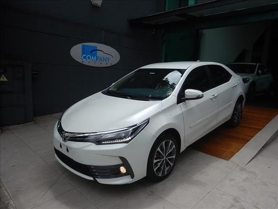 Toyota Corolla Corolla Altis 2018 Branco Único Dono