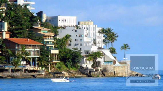 Sobrado Com 5 Dormitórios À Venda, 1200 M² Por R$ 4.550.000 - Condomínio Península - Guarujá/sp, Em Frente Ao Mar. - So0035