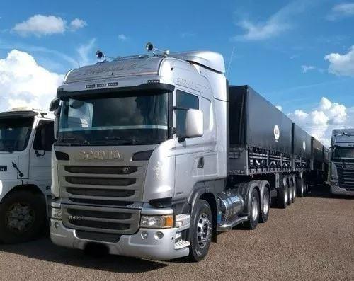 Scania R480 6x4 C/ Bitrem Ano 2015