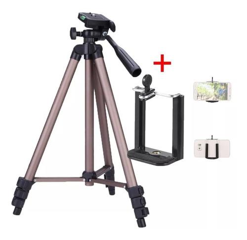 Tripé De Alumínio Weifeng Wt3130 Para Câmera Leve E Portátil