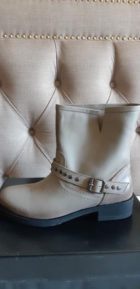 Borcegos/botas Prune N°39, Nuevos, Sin Uso