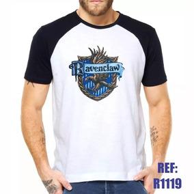 Camisa Raglan Harry Potter Corvinal Hogwarts Cinema Filme C