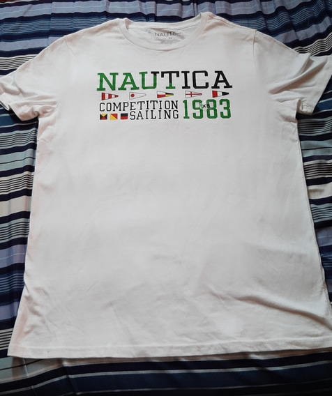 Playera Nautica Xs Blanca