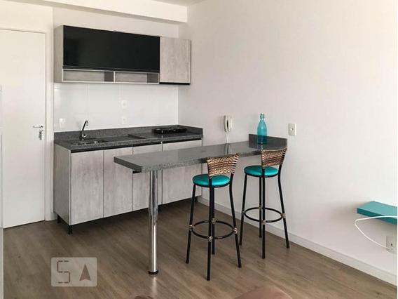 Apartamento Para Aluguel - Tatuapé, 1 Quarto, 27 - 893107541