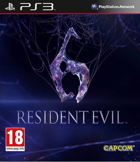 Jogo Resident Evil 6 Ps3 Playstation 3 Português Mídia Físic