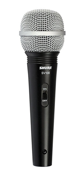 Microfono Shure Sv100 Vocal Mano Karaoke Djs Original Nuevo