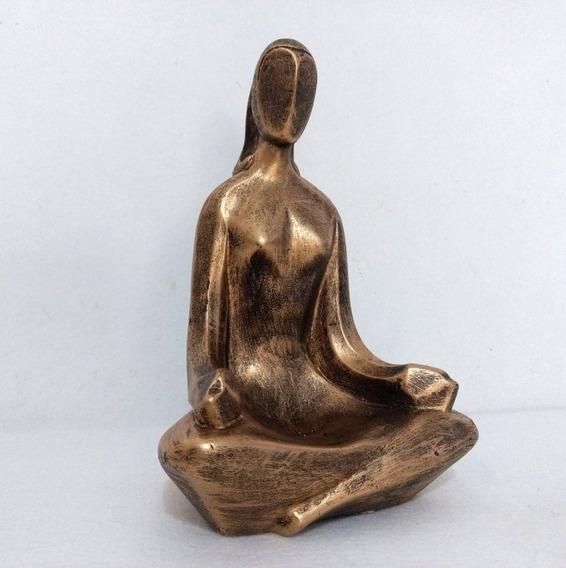 Estátua Yoga G - Cores Diversas - Yogue - Meditação