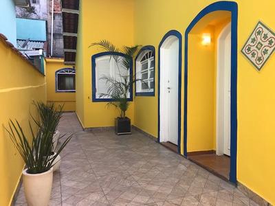 Casa Térrea 2 Dorm - Mobiliada - Santo André (ref042)