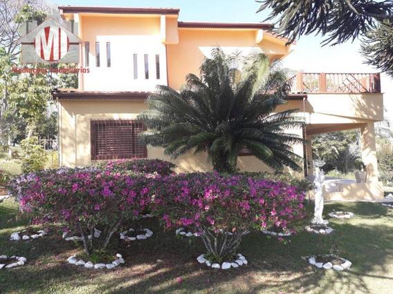 Sítio Com Escritura, Casa Sede, 04 Dormitórios À Venda, 48000 M² Por R$ 950.000 - Zona Rural - Pinhalzinho/sp - Si0036