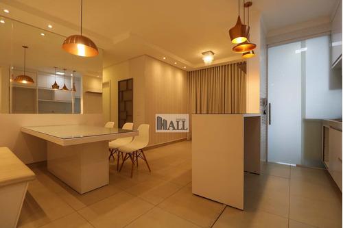 Apartamento À Venda Condomínio Dell'oro Com 3 Quartos, 2 Vagas - V7807