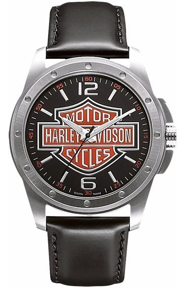 Relógio Bulova Masculino Harley Davidson - Wh30019t + Nfe