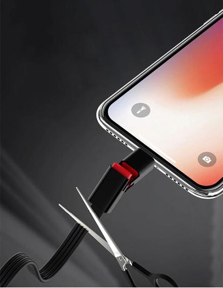 Carregador iPhone Cabo Recuperável Frete Grátis