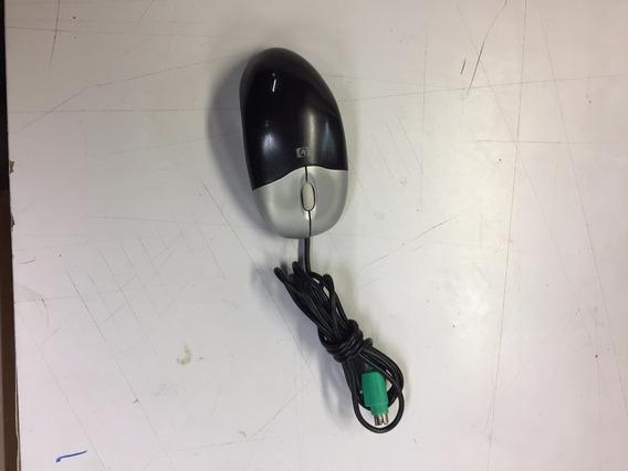 Mouse Ps2 Hp Optico Com Scroll Usado