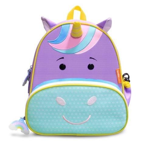 Mochila Infantil Animais Let S Go Unicorn Violet Comtac