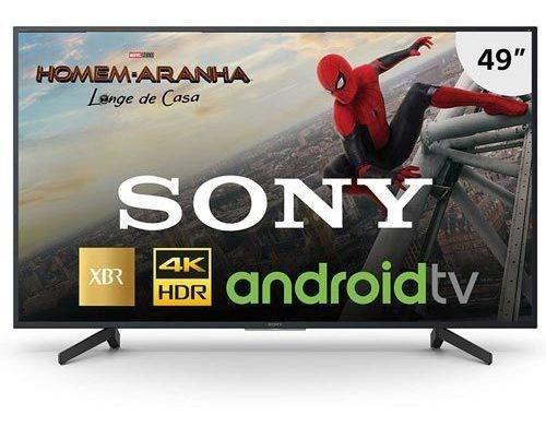 Smart Tv 4k Sony Led 49 Chromecast E Wi-fi - Xbr-49x805g