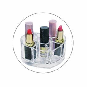 Organizador Batons Cosméticos Maquiagem Lavável Elegante