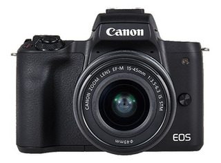 Camara Canon Eos M50 15-45 F/3.5-6.3 Resolucion 4k 24,1 Mpx