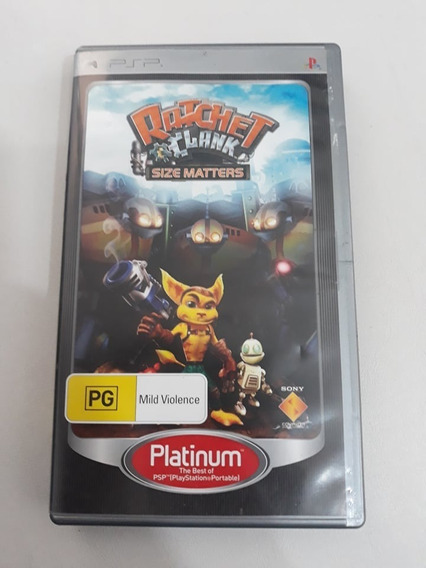 Ratchet Clank Size Matters Psp Midia Fisica