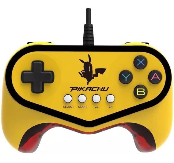 Controle Pro Pad Pokkén Tournament Pikachu Wii U
