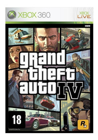 Grand Theft Auto Iv Xbox 360 Midia Digital