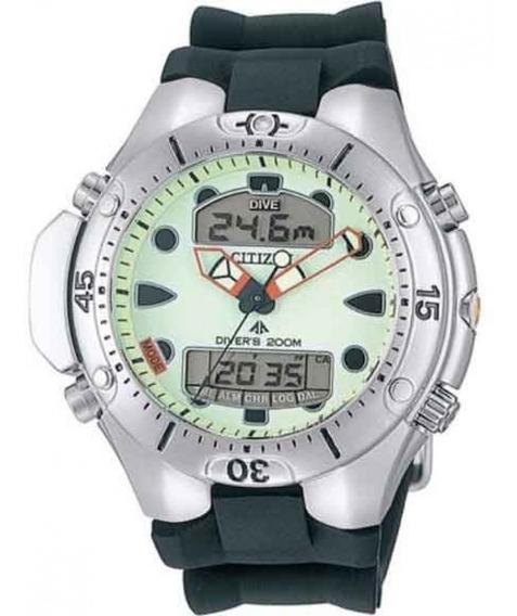 Relógio Citizen Aqualand Jp1060-01w Tz10128m + Nfe +garantia