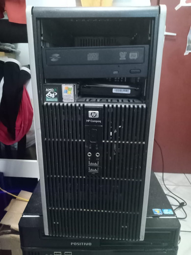 Cpu Hp Compaq Dc5750 Microtower Hd 160gb 4gb Memoria Usado