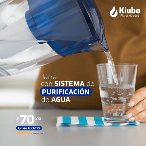 Jarra Con Sistema De Purificacion De Agua   -   Kiubo