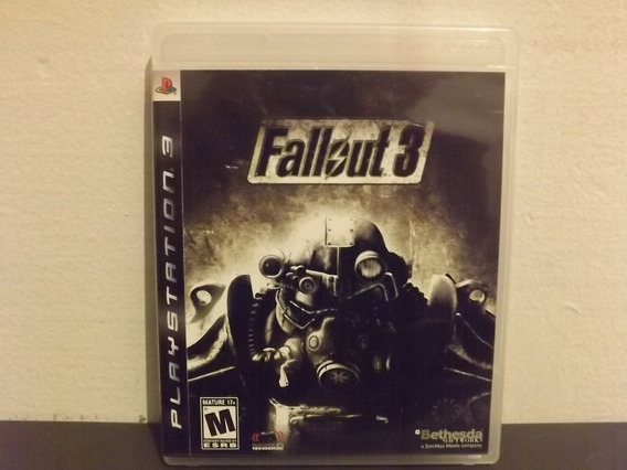 Ps3 Fallout 3 - Completo - Aceito Trocas...
