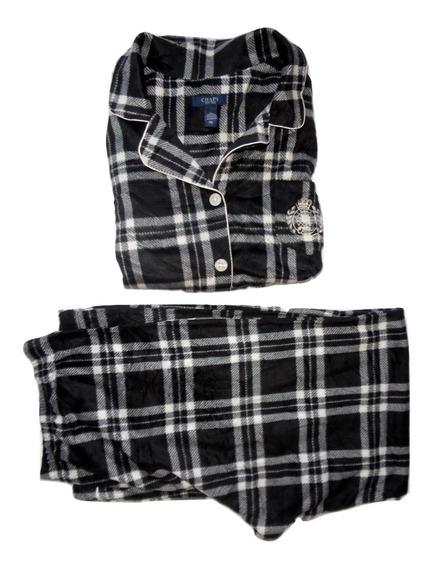 Pijama Importada Polar Gruesa Chaps Xg Dama