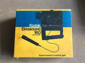 Filmadora Kodak Ektasound 160 Com Caixa E Manuais