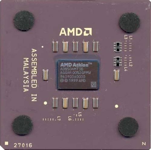 Processador Amd 462 Athlon 850 - Mod A0850amt3b