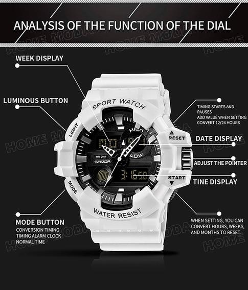 Relógio Original Casual Masculino Importado Esportivo