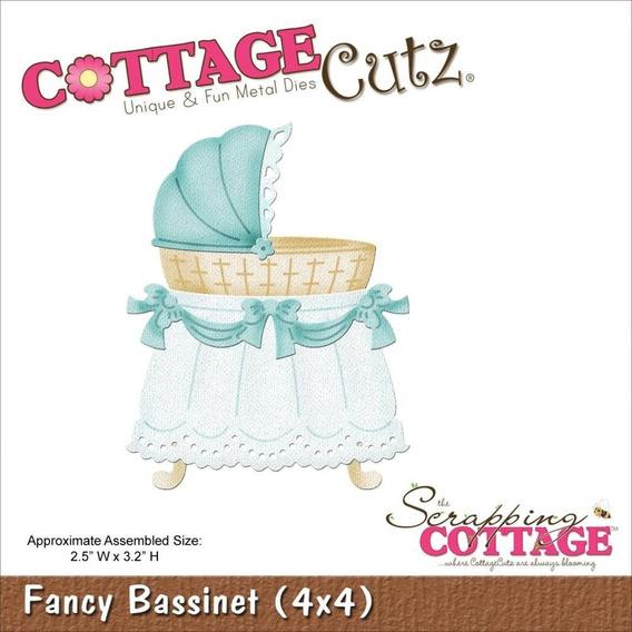 Troqueladora Moisés De Bebé Fancy Bassinet Cottage Cutz